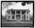 VIEW OF THE EAST FRONT, FACING WEST - Hilderbrand House, 4571 Airways Boulevard, Memphis, Shelby County, TN HABS TN-249-1.tif