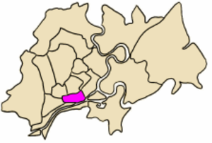 District 5, Ho Chi Minh City - Position in HCMC's core