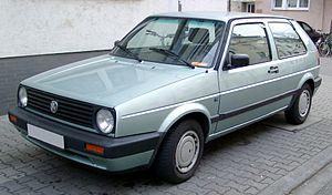 Volkswagen Golf Mk2 - Image: VW Golf II front 20080206