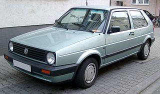 Volkswagen Golf Mk2 Motor vehicle
