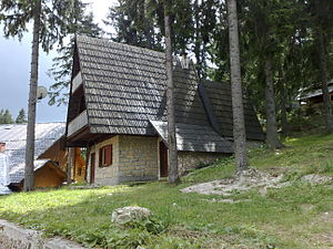 Vacation home at mountain Vlašić