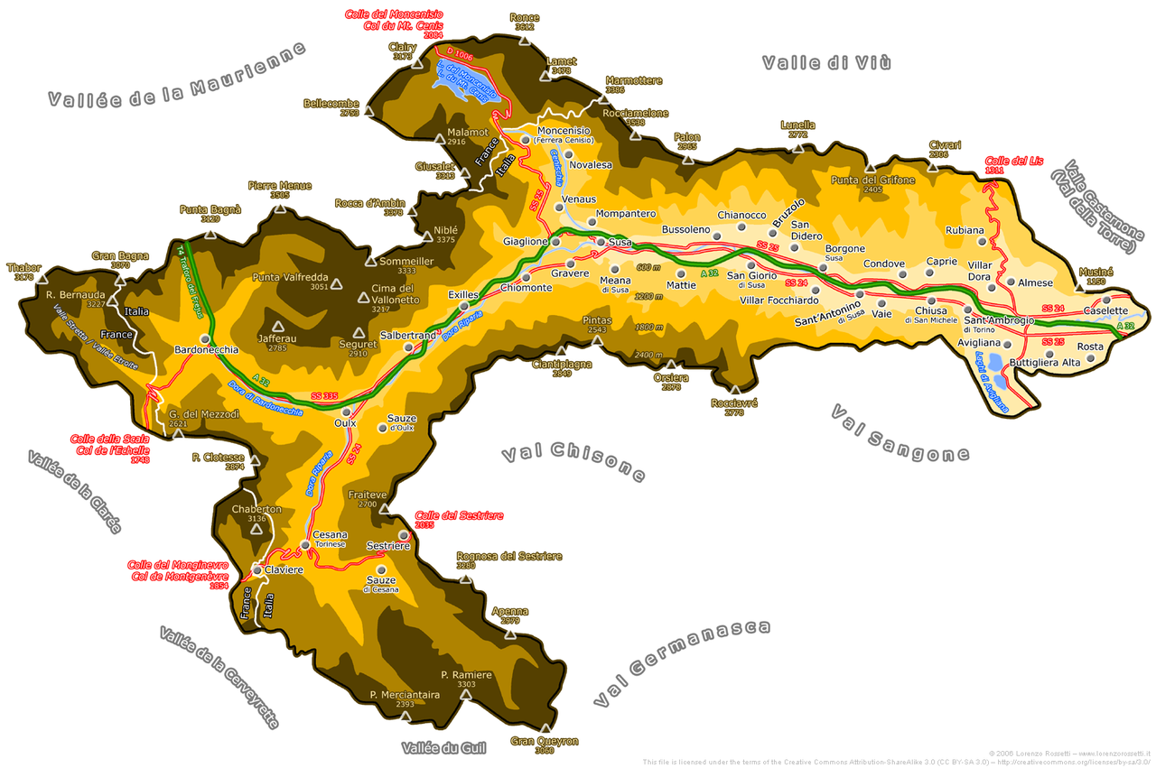 File val di susa wikimedia commons for Mappa della costruzione di casa