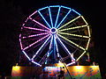 Valdosta Mall Fall Carnival 2015, Ferris Wheel.JPG