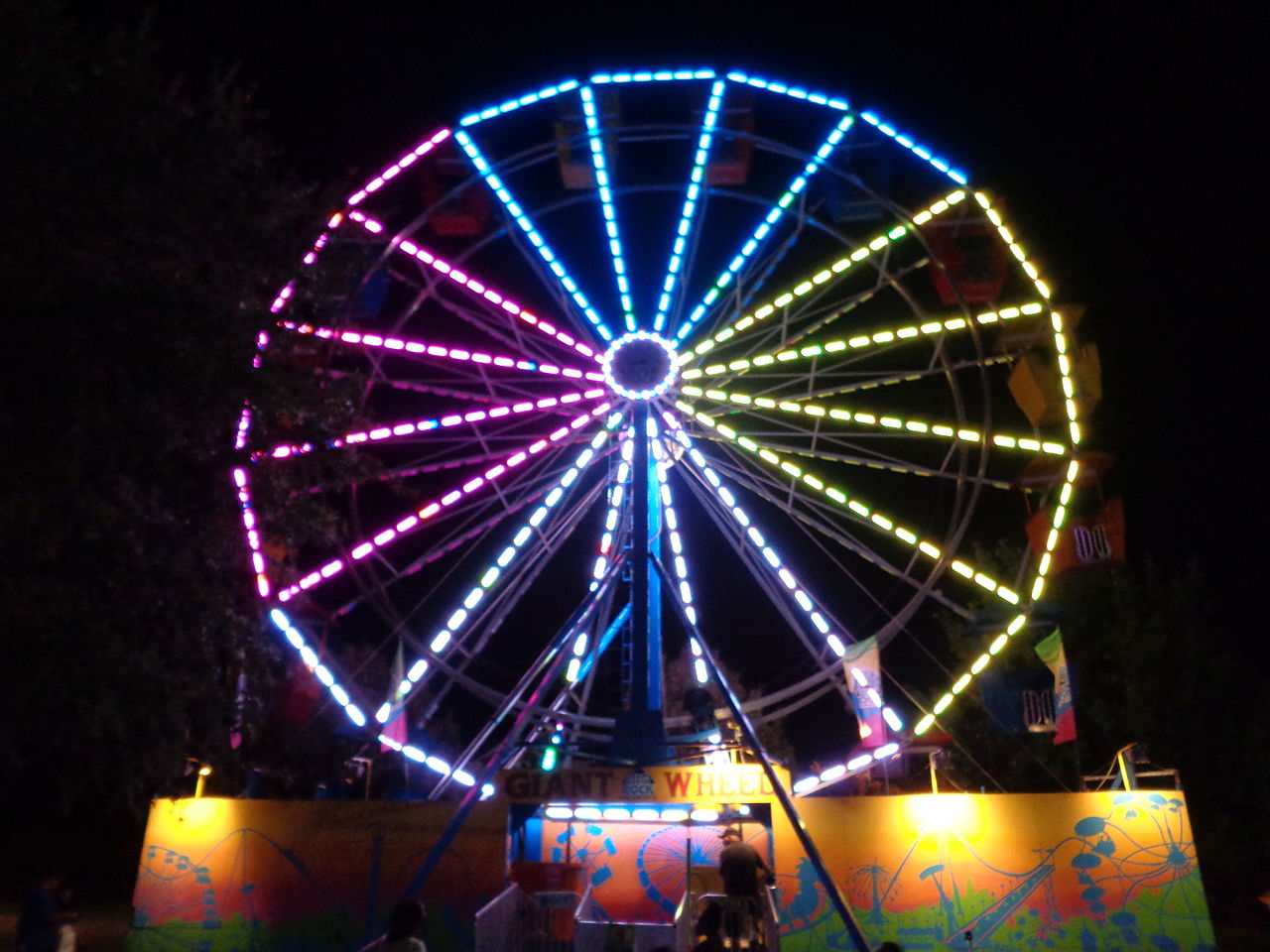 Mall Of Georgia >> File:Valdosta Mall Fall Carnival 2015, Ferris Wheel.JPG - Wikimedia Commons