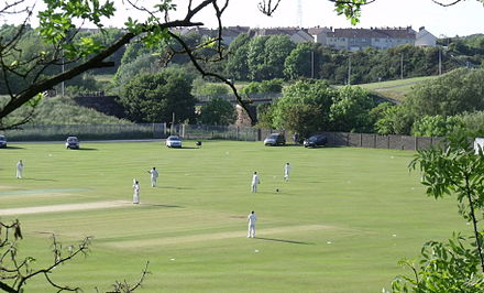 Valentine Cricket Ground on the High Cloffock Valentine Cricket ground on the High Cloffolks.jpg