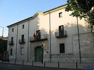 Real Audiencia y Chancillería de Valladolid - Palacio de los Vivero, building on that the Catholic Monarchs installed the Real Audiencia y Chancillería de Valladolid at end of 15th-century.