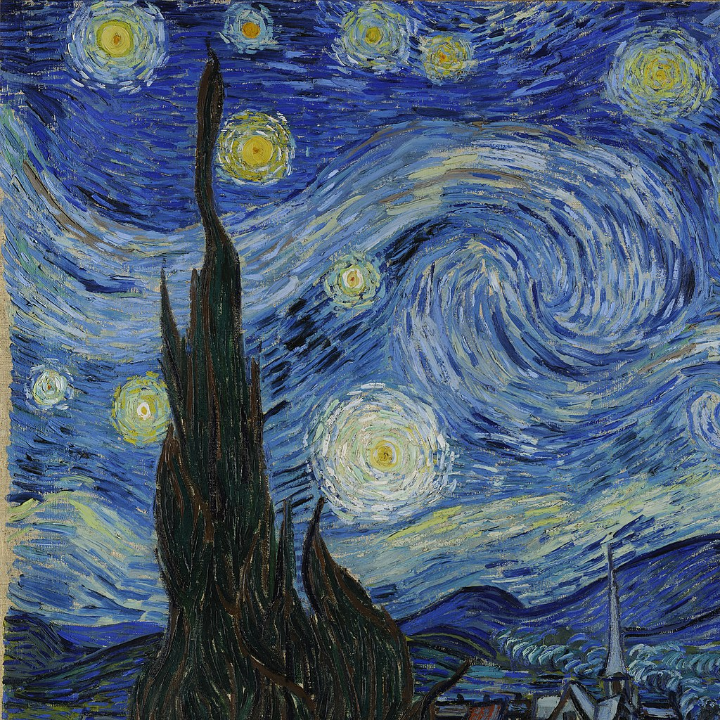Van Gogh Starry Night Original Www Imgkid Com The Image Kid Has It