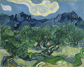Van Gogh The Olive Trees.