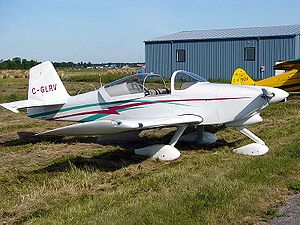 Van's Aircraft RV-6 - A RV-6A – the nose wheel equipped version of the RV-6. This aircraft has the later sliding canopy.