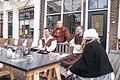 Veel pastors en monniken 1 april feest Brielle.jpg