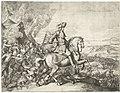 Veldtocht van Christiaan V van Denemarken op het eiland Rügen (linkerhelft), 1677, RP-P-OB-47.308.jpg