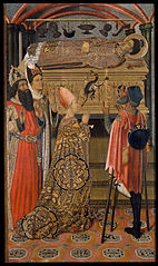 Princess Eudoxia before the Tomb of Saint Stephen