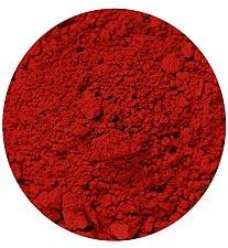 Vermillon pigment