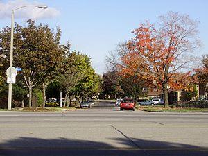 Malvern, Toronto - Looking across Markham Road