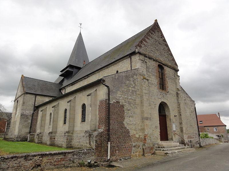 Versigny (Aisne) église