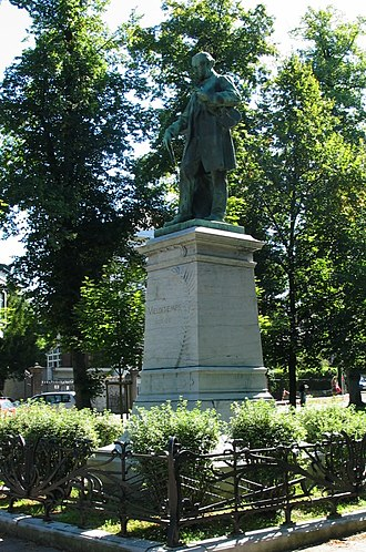 Henri Vieuxtemps - Memorial in Verviers