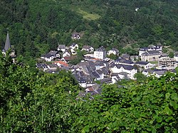 Vianden from above