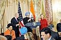 Vice-President Biden, Secretary Clinton Co-Host Social Lunch in Honor of Indian Prime Minister (4373207809).jpg