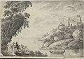 Vicente mariani-Paisaje con lago y castillo en ruínas.jpg