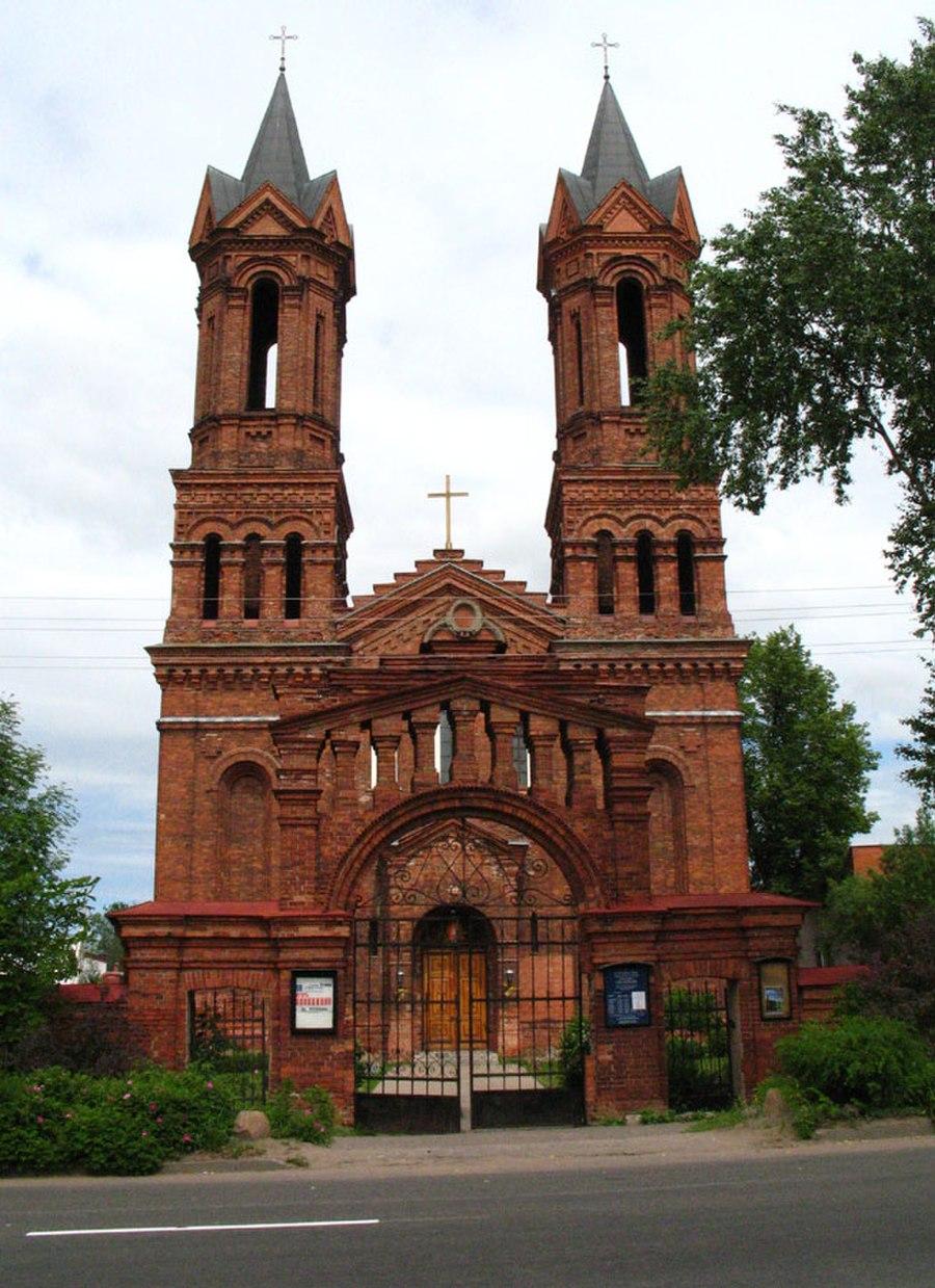 Vitebsk'de Aziz Barbara Kilisesi