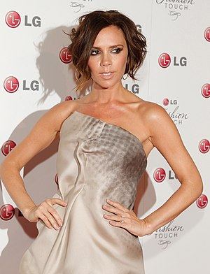 Victoria Beckham - Beckham at the LG Mobile Phone Touch event in 2010.