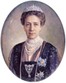 Victoria of Sweden (1881) 1928 by Victor Roikjer (png).png