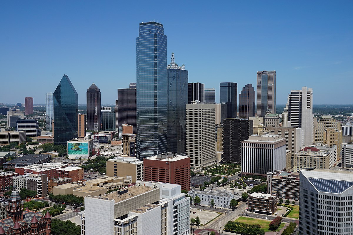 List Of Tallest Buildings In Dallas Wikipedia
