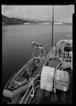 View from flying bridge looking aft - USS SHACKLE, ARS 9, Ketchikan, Ketchikan Gateway Borough, AK HAER AK-49-13.tif