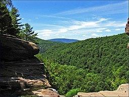 Vy i Catskill Mountains.