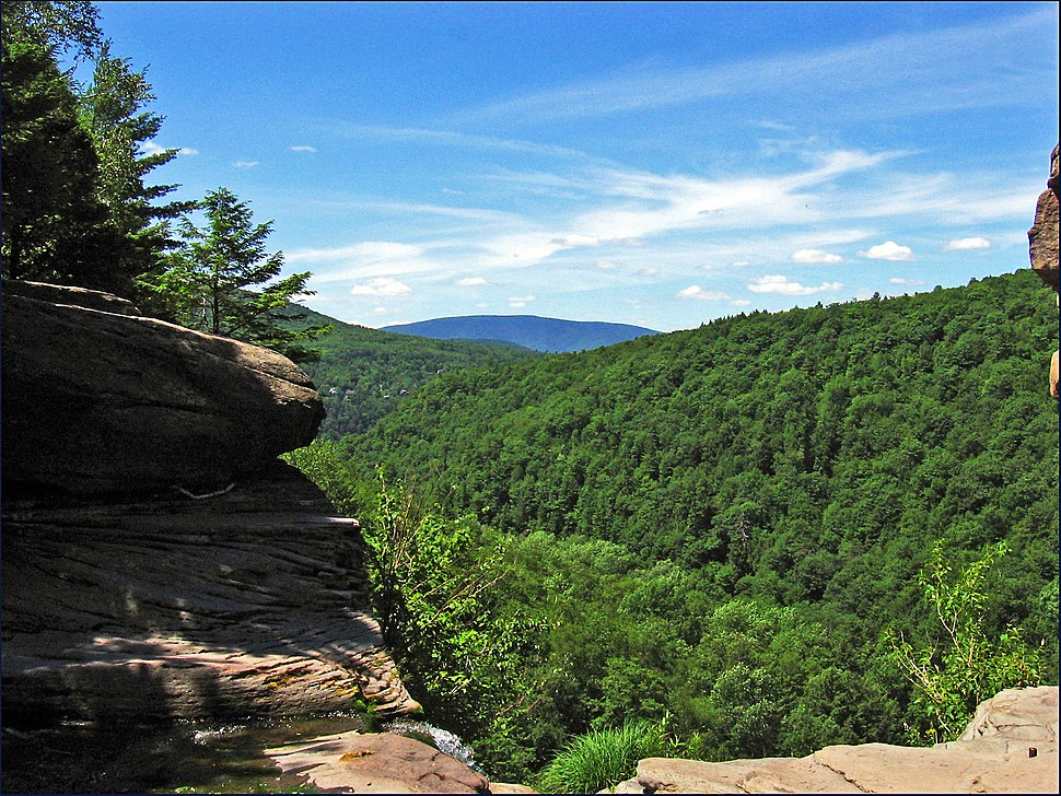 View from top of Kaaterskill Falls 2