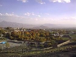 View of Mahalat-نمایی از محلات - panoramio.jpg