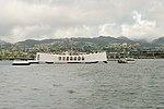 View of USS Arizona Memorial from USS Missouri (6179886639).jpg