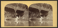 Viewers above and below the bridge, Sharon Springs, from Robert N. Dennis collection of stereoscopic views.png