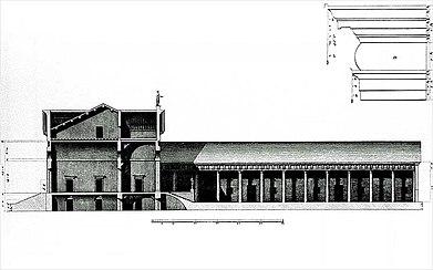 Villa Pojana sezione Bertotti Scamozzi 1778.jpg