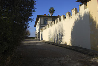 Villa di Marignolle - Exterior wall of the estate