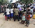 Village de Samboko, territoire de Beni, RD Congo- Le Représentant spécial adjoint du Secrétaire général des Nations Unies en RDC, David Gressly, rencontre la population locale (18758700159).jpg