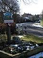 Village sign, Folksworth - geograph.org.uk - 1162706.jpg