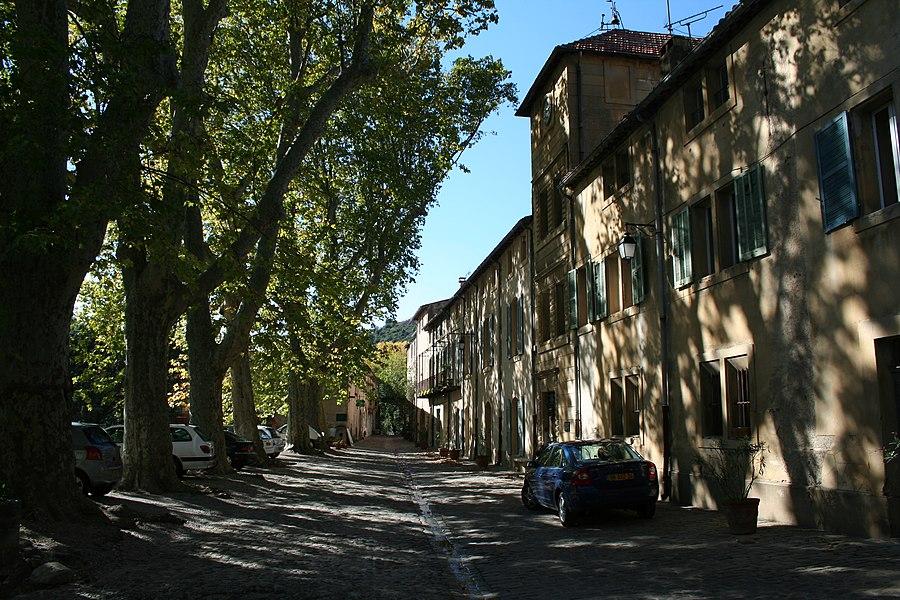 Villeneuvette (Hérault) - Grand-rue.