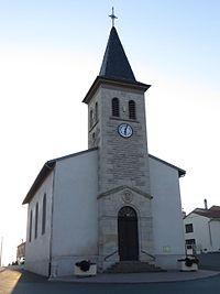 Villers-sur-Nied l'église Saint-Oswald.JPG