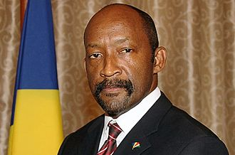 Vice-President of Seychelles - Image: Vincent Meriton portrait