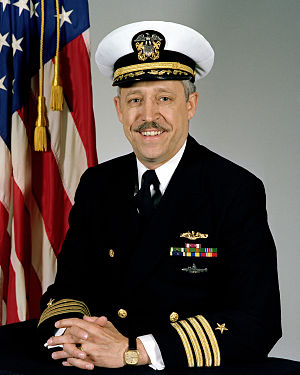 Virgil L. Hill Jr. - Pictured as a Captain in 1983