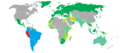 Visa requirements for Peruvian Citizens.png