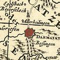 Visscher Moguntini Archiepiscopat et Electoratus 1680 Crop Allerheilingen.jpg