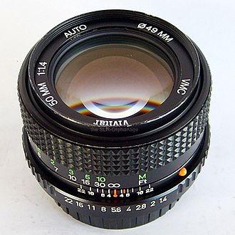 Vivitar - Vivitar 50mm 1:1.4 Auto VMC