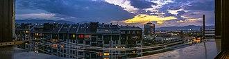 Novi Grad, Sarajevo - Panoramic view of Novi Grad, Sarajevo from Saraj Polje (Vojničko polje), autumn 2005.