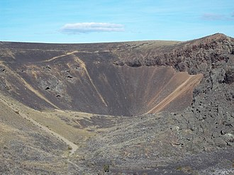 Pali-Aike volcanic field - A vent close to Laguna Azul