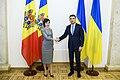Volodymyr Groysman with Maia Sandu - MUS2498.jpg
