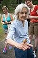 Volunteers with Monarch Teacher Network release butterflies in Arlington National Cemetery (28587949430).jpg