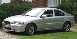 Facelifted P2 Volvo S60 (US)