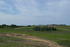 Onezhsky District - Landscape near the village of Vorzogory in Onezhsky District
